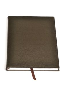 Free Dark Brown Leather Notebook Stock Images - 17910184