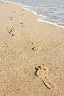 Free Beachwalk Stock Photography - 17910432