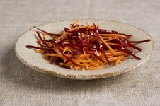 Free Grated Salad Royalty Free Stock Photography - 17910657