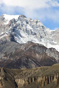 Free Annapurna Range Royalty Free Stock Image - 17910896