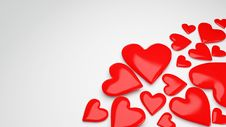 Free Beautiful Love Background For Valentine Day Royalty Free Stock Photography - 17910977