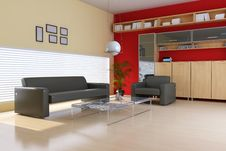Free Living Room Royalty Free Stock Photos - 17911388