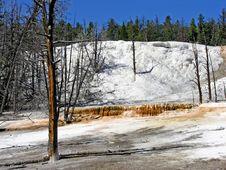 Free Orange Spring Mound, Yellowstone Stock Image - 17911481