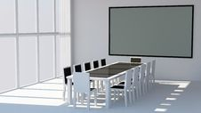 Free Modern Conference Room Stock Photography - 17911492