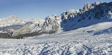 Free Passo Giau, Dolomites, Italy Stock Photo - 17911590