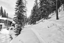 Free Snow On The Dolomites Mountains, Italy Royalty Free Stock Photos - 17911898