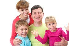Free Happy Family Royalty Free Stock Photos - 17912498