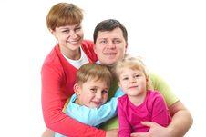 Free Happy Family Royalty Free Stock Image - 17912516