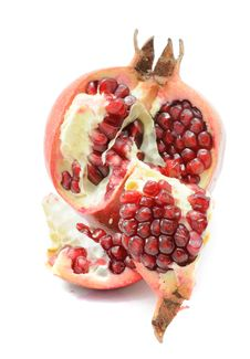 Free Opened Pomegranate Royalty Free Stock Photos - 17912848