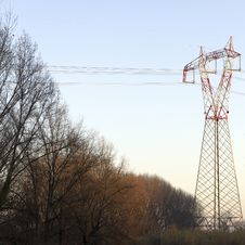 Free Electric Tower Royalty Free Stock Photography - 17913037