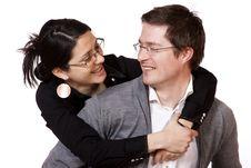 Free Happy Couple Royalty Free Stock Photo - 17913525