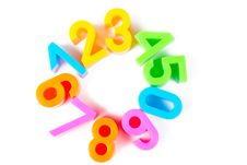 Free Bright Numbers Stock Images - 17914204