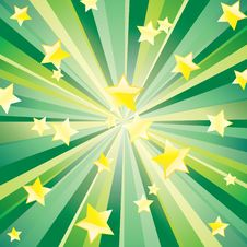 Free Stars And Beams. Royalty Free Stock Image - 17914666