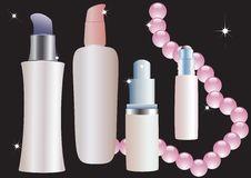 Free Cosmetic Bottles. Stock Photo - 17914700