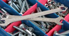 Free Spanners, Bolts And Nuts Royalty Free Stock Images - 17914829