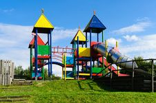 Free Colorful Playground Stock Photography - 17914902