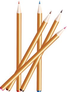 Free Pencils Stock Photography - 17915222