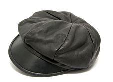Free Black Leather Hat Stock Image - 17915411