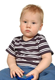 Free Portrait Little Boy Stock Photo - 17916680