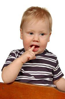 Free Portrait Little Boy Stock Images - 17916704