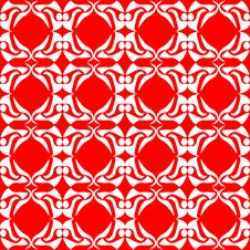 Free Seamless Red Floral Background Excellent Royalty Free Stock Photography - 17916757