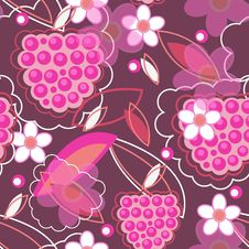 Free Beautiful Floral Texture Royalty Free Stock Photo - 17916935