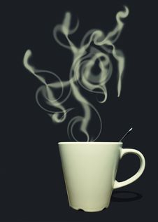 Free Coffee Hot Royalty Free Stock Image - 17916976
