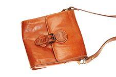Free Lady Leather  Handbag Royalty Free Stock Image - 17917266