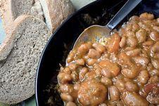 Free Bean Soup. Stock Photos - 17917923
