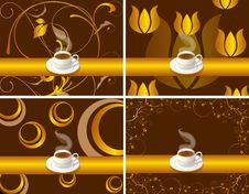 Bar Restaurant Lounge Coffee Illustration Vector F Stock Image