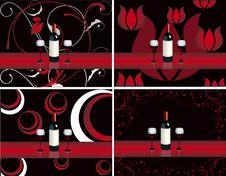 Free Bar Restaurant Lounge Vine Illustration Vector F Stock Photo - 17918730