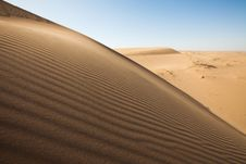 Free Dune On The Desert. Stock Photography - 17918742