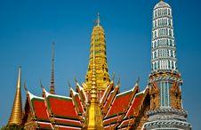 Free Thai Palace 2011 Royalty Free Stock Image - 17918936