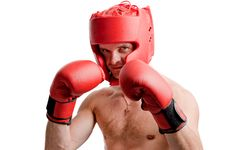 Free Professional Boxer Isolated On White Stock Photo - 17919130