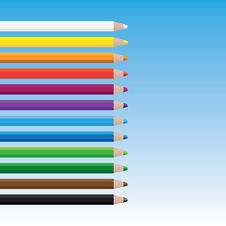 Free Drawing Color Pencils Royalty Free Stock Images - 17919799