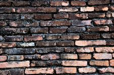 Free Old Brick Wall Royalty Free Stock Image - 17919906