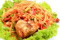 Free Thai Papaya Salad Royalty Free Stock Photo - 17920325