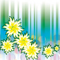 Free Abstract Background With Flowers Stock Photos - 17925343
