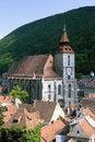 Free Black Church From Brasov Romania Royalty Free Stock Photos - 17928038