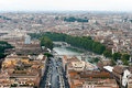 Free Panoramic View At The Rome Royalty Free Stock Images - 17928989