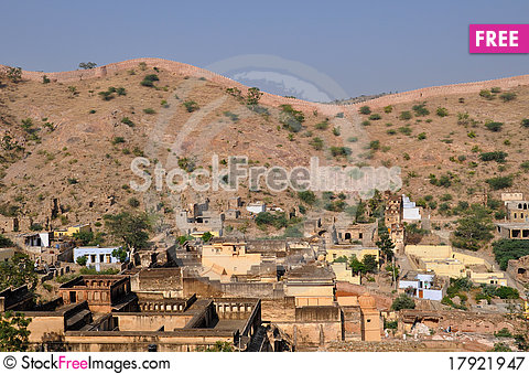 Free Jaipur Hills Royalty Free Stock Photography - 17921947