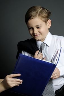 Successful Young Manager Winning Royalty Free Stock Photo