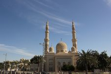 Free Jumeirah Mosque Royalty Free Stock Photography - 17920297