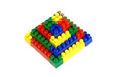 Free Toy Building Blocks - A Pyramid Stock Photo - 17920320