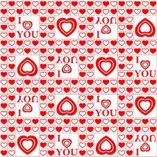 Free Valentine Seamless Pattern. Royalty Free Stock Image - 17920506