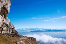 Free View On Mont-Blanc Massive Royalty Free Stock Photo - 17920655