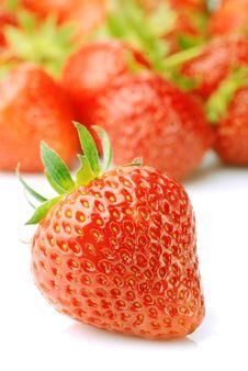 Free Fresh Strawberry Stock Image - 17920791