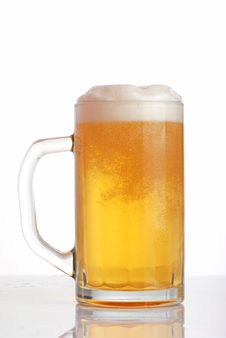 Free Glass Of Beer Close-up Royalty Free Stock Image - 17920866