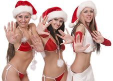Free Sexy Playful Girls Stock Photography - 17921162