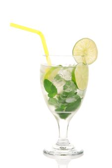 Free Classic Mojito Cocktail Royalty Free Stock Images - 17921199